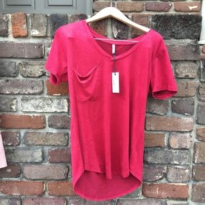 Pink Z Supply short sleeve tee shirts NWT